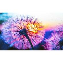 YIKEE 5diy Алмаз живописи цветок 5D Сделай сам полный квадрат горный хрусталь вышивка мозаика домашнего декора k957