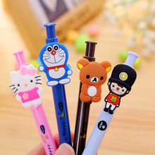 (1pc/Hot Sell) 0.7mm Cute Kawaii British Army Soldiers Ball Ballpoint Pens Ballpen For Office School Writing Supplies Stationery(China)