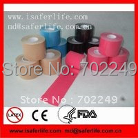 For wold cup team muscle curing 60pcs / lot 5cm*5m health kinesiology sports tape for football compare as kinesio tape