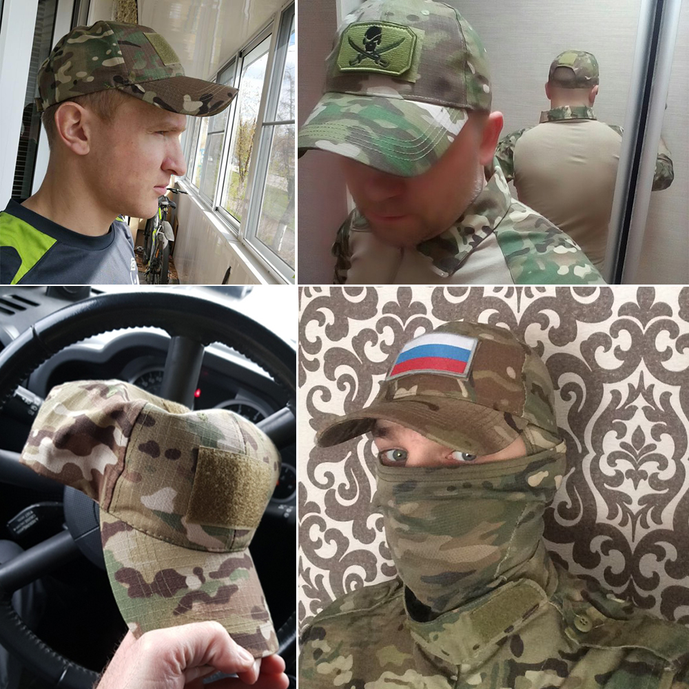 Outdoor Multicam Camouflage Adjustable Cap Mesh Tactical Military Army Airsoft Fishing Hunting Hiking Basketball Snapback Hat 10