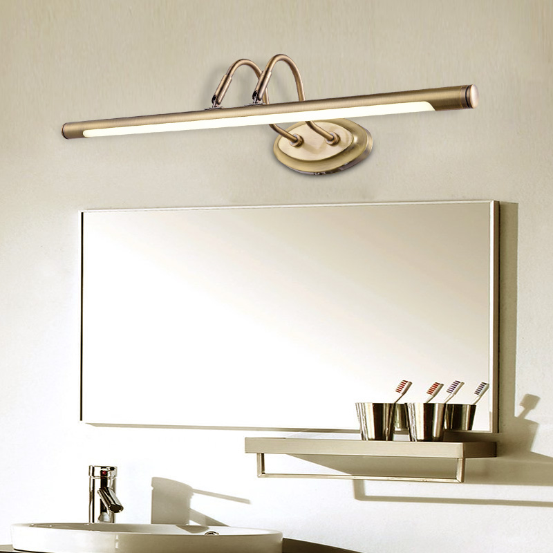 European simple cabinet lamp LED lamp Wall Lamps bathroom mirror makeup American retro led mirror lamp LU626 ZL145