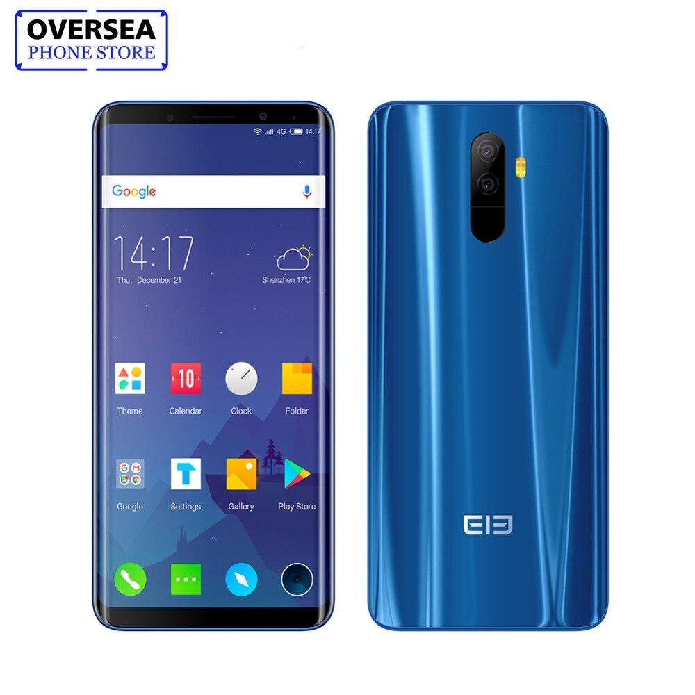 Elefono U Telefono Delle Cellule Del Android 7.1 5.99 pollice FHD Schermo Curvo-Display Smartphone Quad-core 4 + 64 gb di Impronte Digitali Del Telefono Telefono