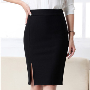 Image 3 - 2017 New Women Formal Work Wear Skirts Ladies Sexy High Waist Mini Pencil Skirt 7 Colors Stretch Package Hip SP5602