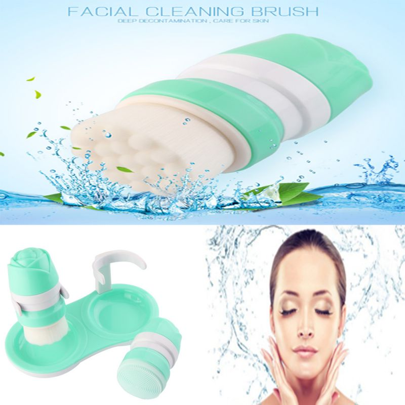 Hot Sale Women Makeup Brushes Face Wash Brushes Soft Facial Cleaner Design Health Silica Gel Cleaning Nose Effective Tools hanriver health care tools irrigator pregnant women wash ass gynecological vagina cleaner