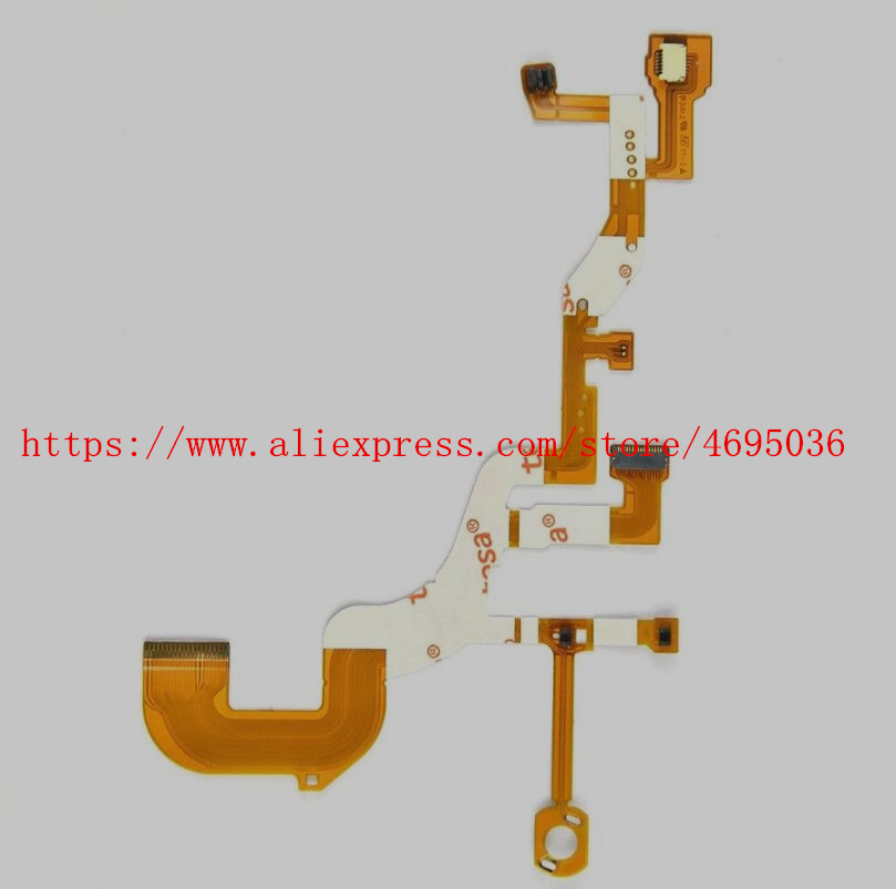 NEW <font><b>Lens</b></font> Back Main Flex Cable For <font><b>SONY</b></font> DSC-WX300 DSC-<font><b>WX350</b></font> WX300 <font><b>WX350</b></font> Digital Camera Repair Part + Sensor + Socket image