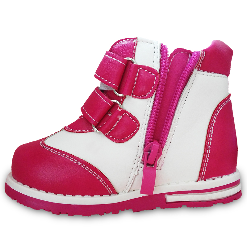 NEW-Autumn-1pair-Flower-Ankle-Leather-Fashion-Children-Boot-Kids-PU-Leather-Baby-Girl-Shoes-4