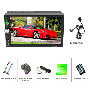 Image 5 - Hikity radio samochodowe 2 din autoradio RDS nawigacja GPS FM Bluetooth multimedialny odtwarzacz wideo z mikrofonem pilot Stereo