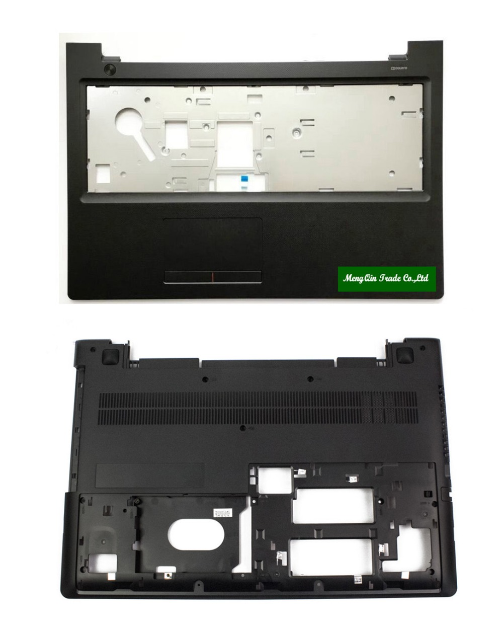 New Original Lenovo Ideapad 300-15 300-15ISK Bottom Base Case Cover & Palmrest top case Upper Case With Touchpad Board new laptop for lenovo ideapad 300 15 300 15ibr 300 15isk ap0ym000100 palmrest keyboard cover black