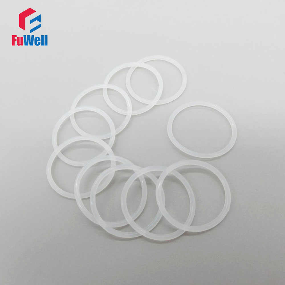 Color : 10pcs, Size : 22x38x2mm 10//50pcs Silicone Flat Gasket Ring 1//2 3//4 1 2 VMQ Rubber Seal Ring Gasket for Corrugated Pipe Flat Gasket Ring Washer