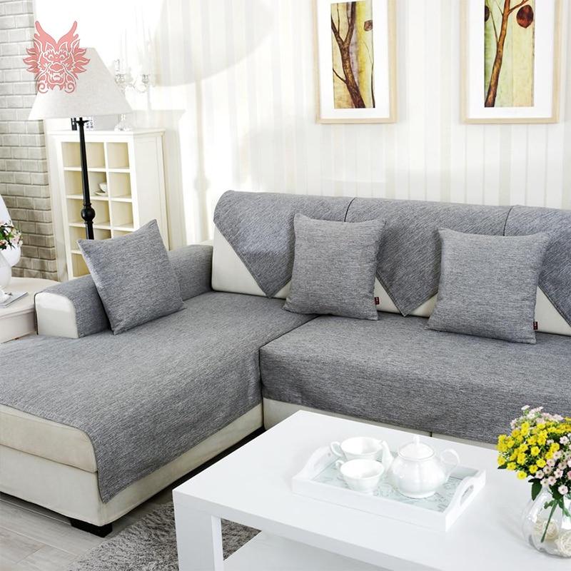 Grey Linen Sofa Slipcover Aecagra Org