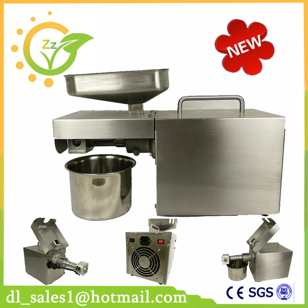 Brand New Home Use Cold Peanut Sunflower Seed Press Small Oil Press Machine For Sale