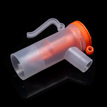 8ml New FDA Inhaler Parts Nebulizer Cup Medicine Tank Cup Compressor Nebulizer Accessory Atomized Spray Injector