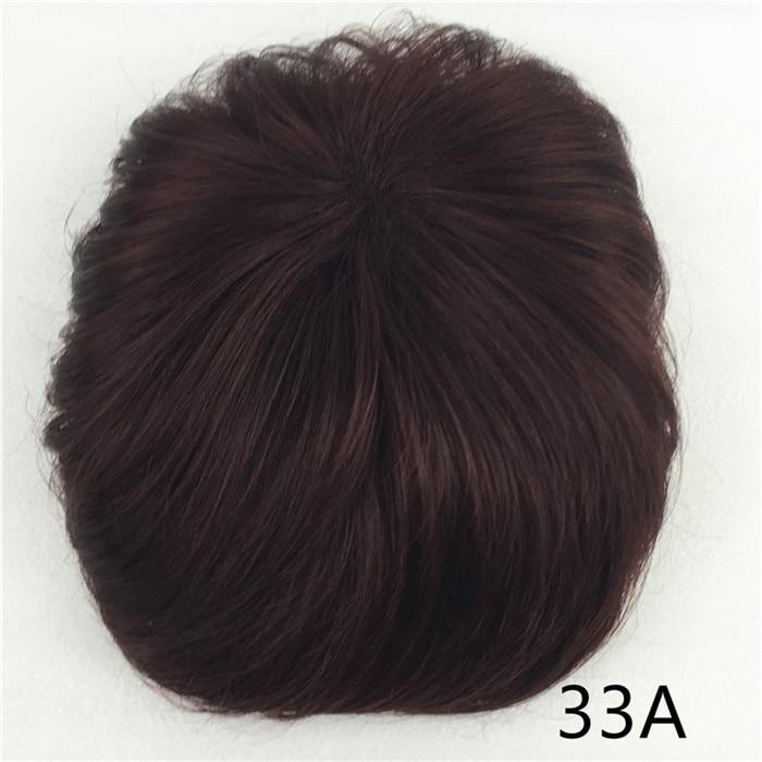 Сильная красота парик синтетические волосы парик выпадение волос топ кусок парики 36 цветов на выбор - Цвет: T1B/33