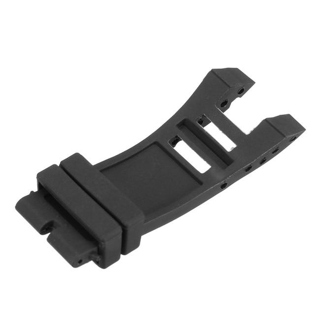 KINCO longueur 135/80mm bandes en caoutchouc souple bracelets noirs sangle pour Invicta Subaqua Noma IV Noma 4 32mm cosses montres intelligentes