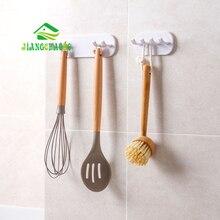 JiangChaoBo fuerte gancho de palo utensilios y electrodomésticos de cocina estante de la pared no-Marca viscosa