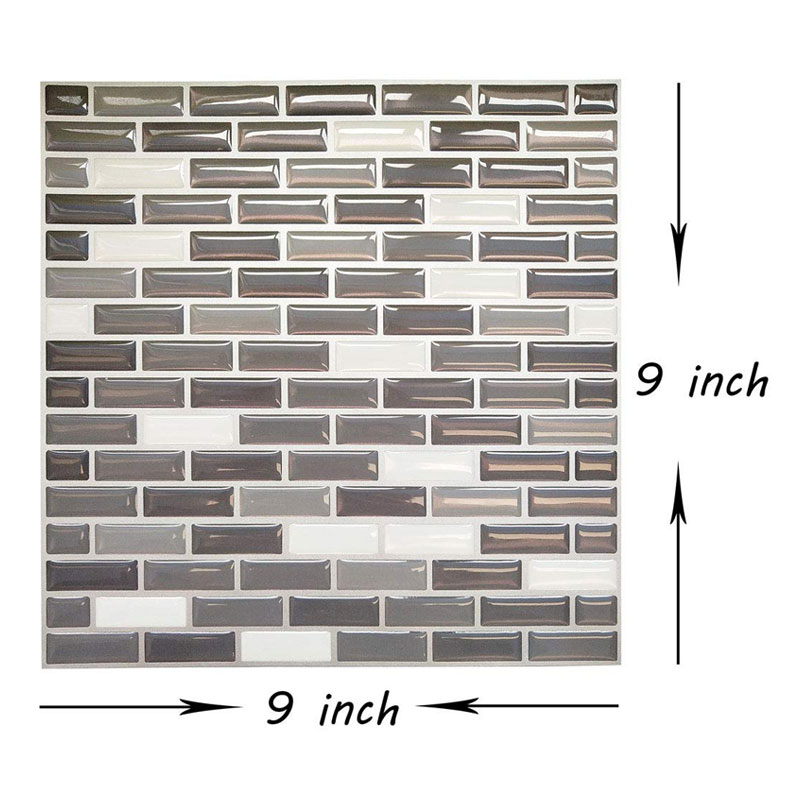 US $15.93 31% OFF|Moderne Stein 3D Harz Tapete Ziegel Wand Papiere Für  Zimmer Hintergrund Home Decor Wand Aufkleber badezimmer tapete papel ...
