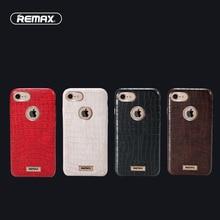 Для iPhone 7 Случае iPhone7 4.7 дюймов Крышка Жесткий PC + PU кожа Crocskin Всего Тела Протектор Роскошные Прохладный Стиль i7 Случаи Remax бренд