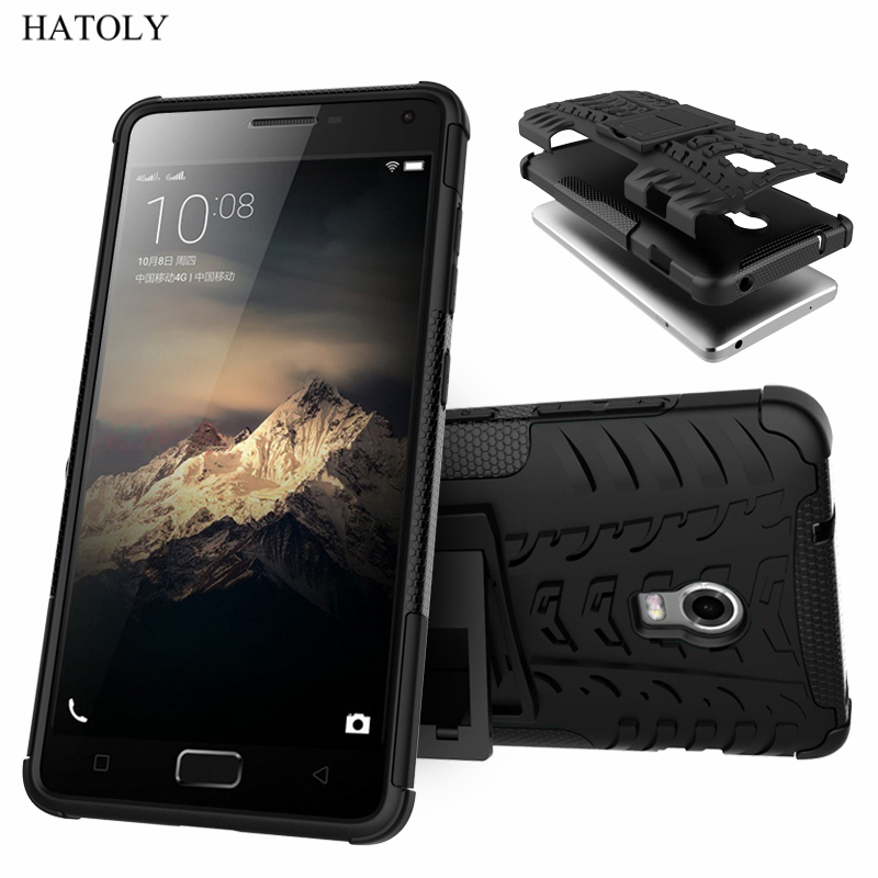 HATOLY For Cover <font><b>Lenovo</b></font> Vibe <font><b>P1</b></font> <font><b>Case</b></font> <font><b>Lenovo</b></font> <font><b>P1</b></font> Armor Shockproof <font><b>Silicone</b></font> Hard Plastic <font><b>Case</b></font> For <font><b>Lenovo</b></font> Vibe <font><b>P1</b></font> with Holder Stand] image