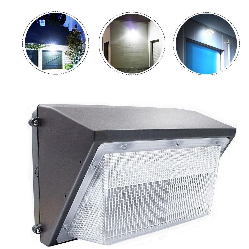Metal Halide Bulb In Hps Fixture: 4 Pack Of 70Watt LED Wall Pack Fixture,8500LM 5500K,300W
