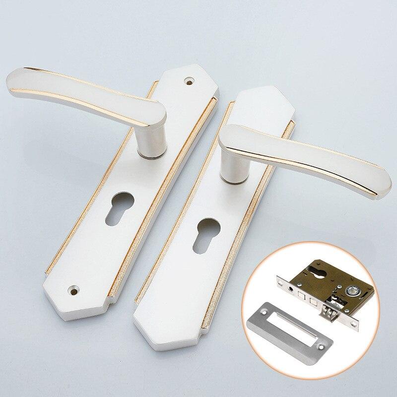 45 x 50 mm Serrure De Porte Cylindre De Verrouillage Poignée Cylindre avec 3 clés