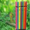 1 pcs o mini aves cotovia apito flauta ritmo da música toys brinquedo do bebê educacional toys pássaro apito flauta brinquedo da novidade