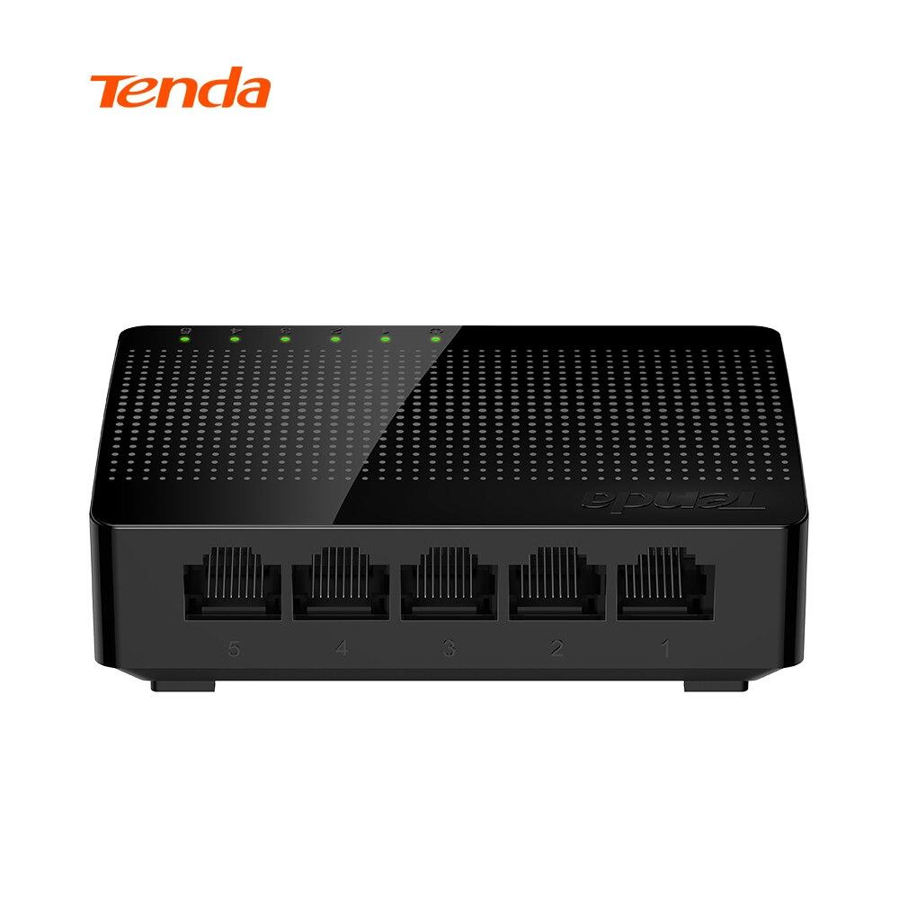 Tenda SG105 Mini-Port Desktop Switch Gigabit/Fast Ethernet Switch di Rete LAN Hub/Full o Half duplex Scambio, UE/USA Firmware