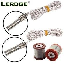 LERDGE Mendel Heating Tube Reprap 12V 24V 50W Ceramic Cartridge Heater for HotEnd J Head 6*20mm 3D Printer parts 1M 2M for 1PCS