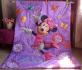 Bedding product girl baby quilt cartoon happy dance Minnie Children quilt blanket