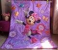 Produtos de cama colcha de Minnie crianças dos desenhos animados do bebê colcha cobertor