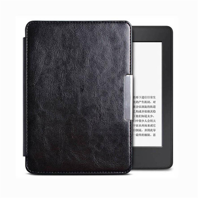 Tablets Case Magnetic Auto Sleep PU Leather Cover Case For Paperwhite (7th Generation) 6 Inch + pen/Screen Protect