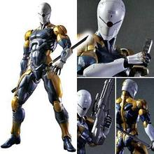 ARTS JOGAR 24 cm Metal Gear Solid Gray Fox Action Figure Modelo Brinquedos(China)