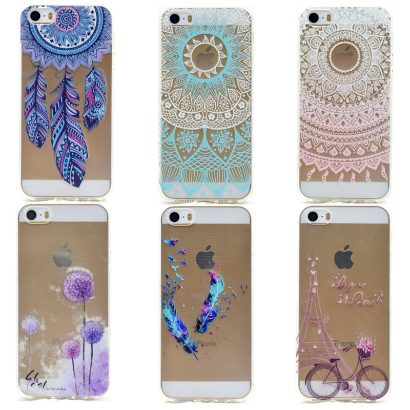 iphone 5 girl cases fashion phone cases transparent clear for iphone 5s 14520