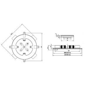 Image 4 - لوسيا لتقوم بها بنفسك المغناطيسي الإرتفاع وحدة المغناطيسي تعليق الأساسية مصباح الحمولة الوزن 800 1000g H3 006