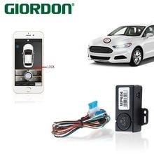 Akıllı telefon kumanda araba oto parçaları cep telefonu manuel kumanda araba sallamak cep telefonu anahtarı kilidi, güvenli ve r...