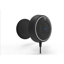 NFC Bluetooth Car Kit 3.5 мм AUX Аудио Приемник Беспроводной Bluetooth 4.0 Приемник комплекты Громкой Связи С Микрофоном 3.1A Двойной Автомобилей USB зарядное устройство