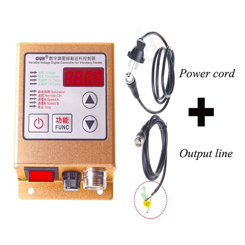 Intelligent Digital Voltage Regulation Vibration Feeding Control Speed Regulation Appliance SDVC20-SIntelligent Digital Voltage Regulation Vibration Feeding Control Speed Regulation Appliance SDVC20-S