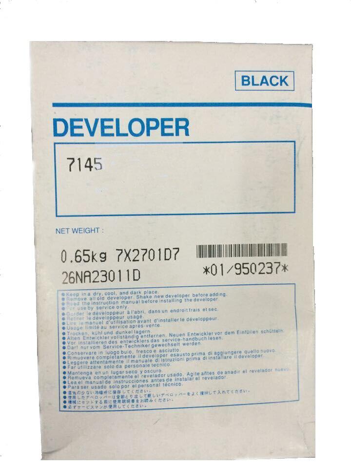 1Pcs DV401K Compatible Developer For Minolta 7145 7135 7040 7033 7035 7235 Copier Parts 1pcs compatible developer for minolta 7020 7022 7030 7130 7025 copier parts