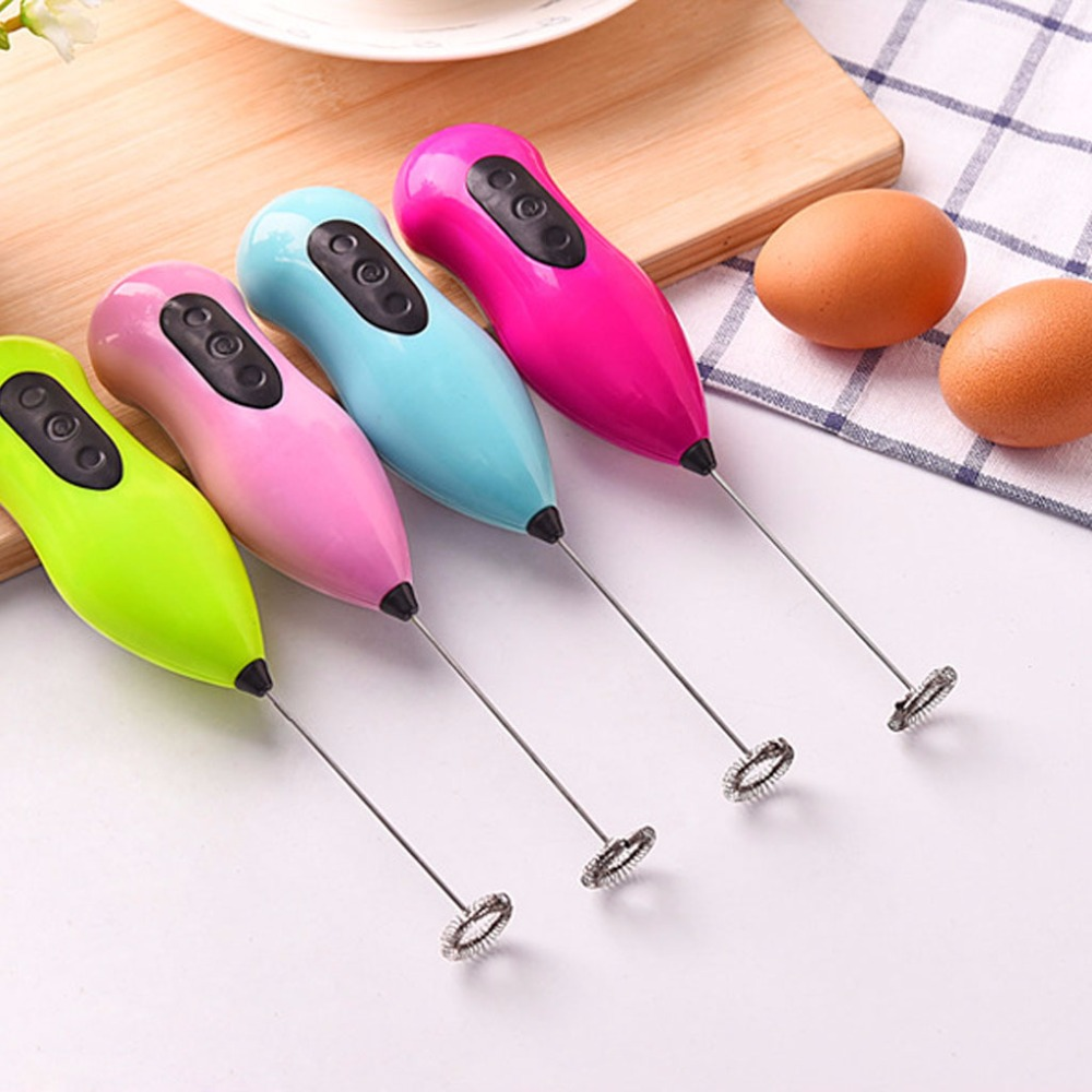 SKYMEN Mini 21.5CM Mini Portable Handle Electric Mixer Drink Milk Egg Frother Foamer Whisk Stirrer Beater