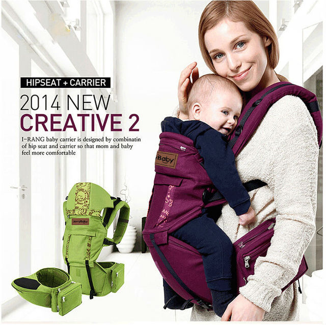2015 Organic cotton baby carrier Sling Toddler wrap Rider canvas Multifunction Breathable Backpacks  Activity&Gear suspenders