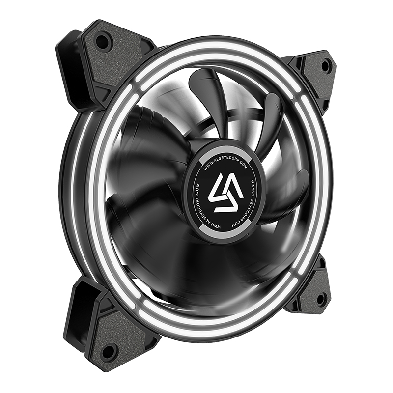 ALSEYE RGB Fan Adjustable PC Fan 120mm Cooling Fans (3pieces/set) Reset Key Control (HALO 3.0 New Arrivel)-in Fans & Cooling from Computer & Office    3