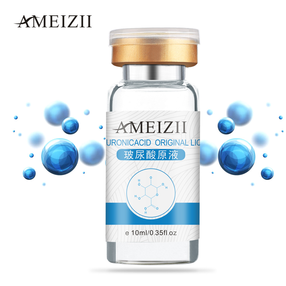AMEIZII Snail Essence Hyaluronic Acid Serum Moisturizing Whitening Lifting Firming Essence Anti Aging Face Skin Care