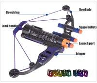 Cosplay Hawkeye Bow Nerf Gun Bow Shoot Soft Bullet Arrow For Boy Girl Toy Gun Kid