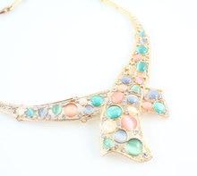 Austrian Crystal / Opal Peacock Jewelry Sets