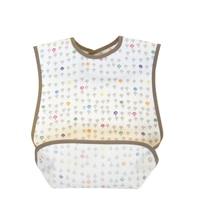Newborn Baby Burp Clothes Cotton Feeding Cushion Best Friends Plain Waterproof Long Baby Bib Aprons For