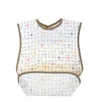 Newborn Baby Burp Clothes Cotton Feeding Cushion Best Friends Plain Waterproof Long Baby Bib Aprons For