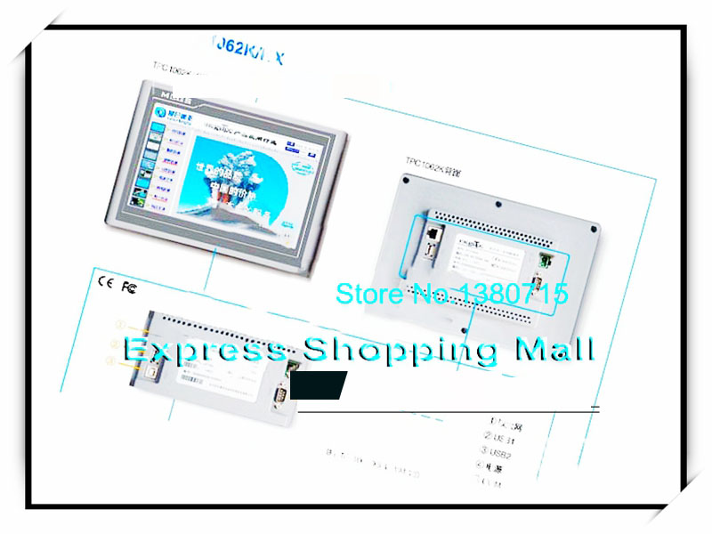 New TPC1062KX Touch Screen HMI 10.2 inch 2 com new tpc 120h ecme touch screen