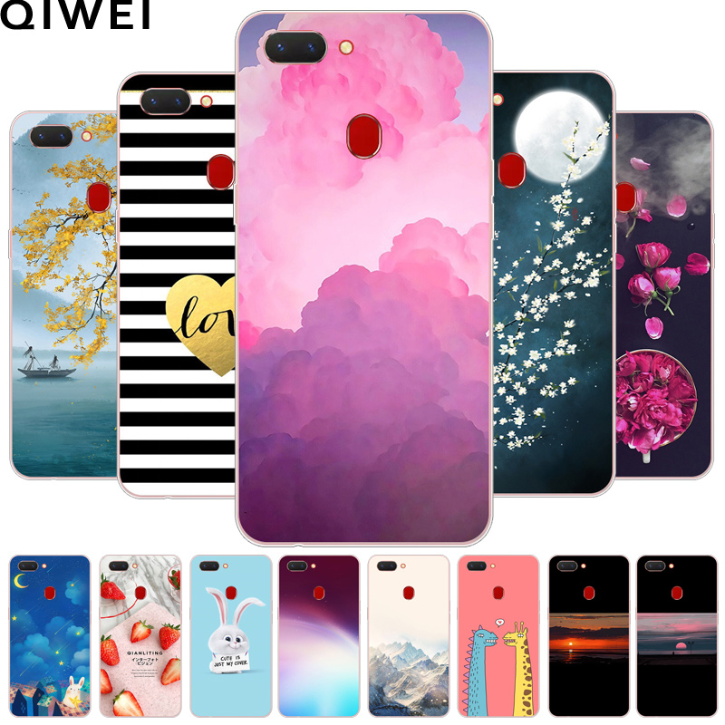 Soft TPU Case For Oppo Realme 2 Cover Silicone Fashion Painting Back Cover For OPPO Realme 2 Realme2 Protector Phone Cases Para