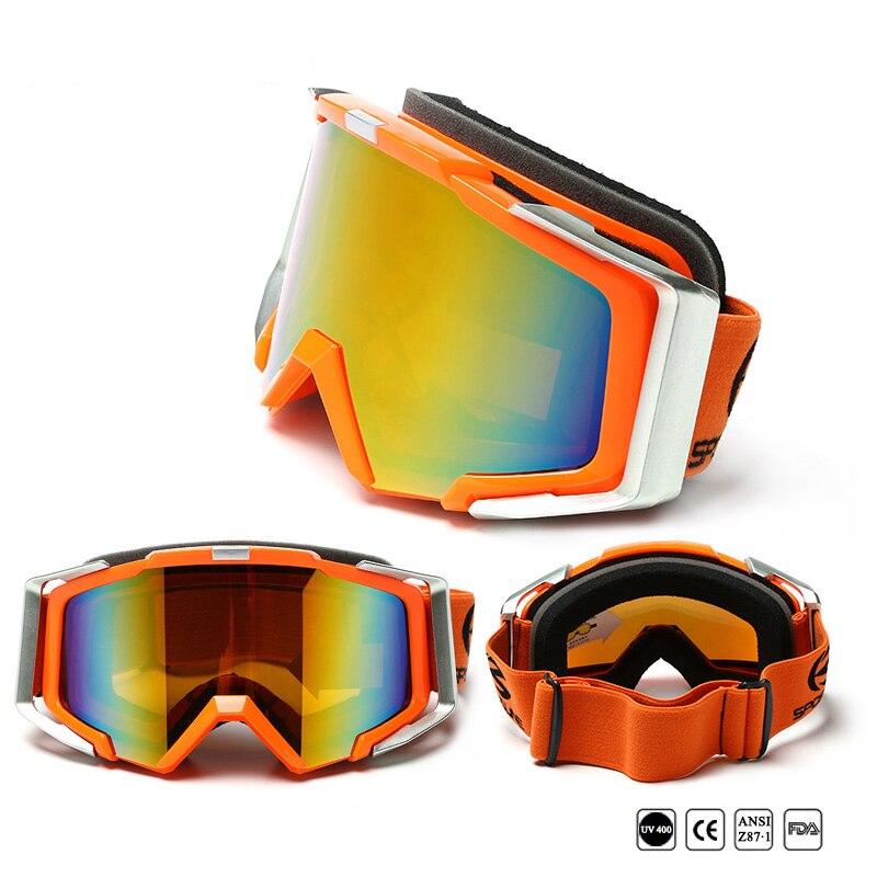 Freddo Doppia Lente Cilindrica Snowboard Occhiali Da Sci Per Gli Uomini E Le Donne Uv400 Anti Fog Neve Occhiali Maschera Di Protezione Versione Hd Occhiali