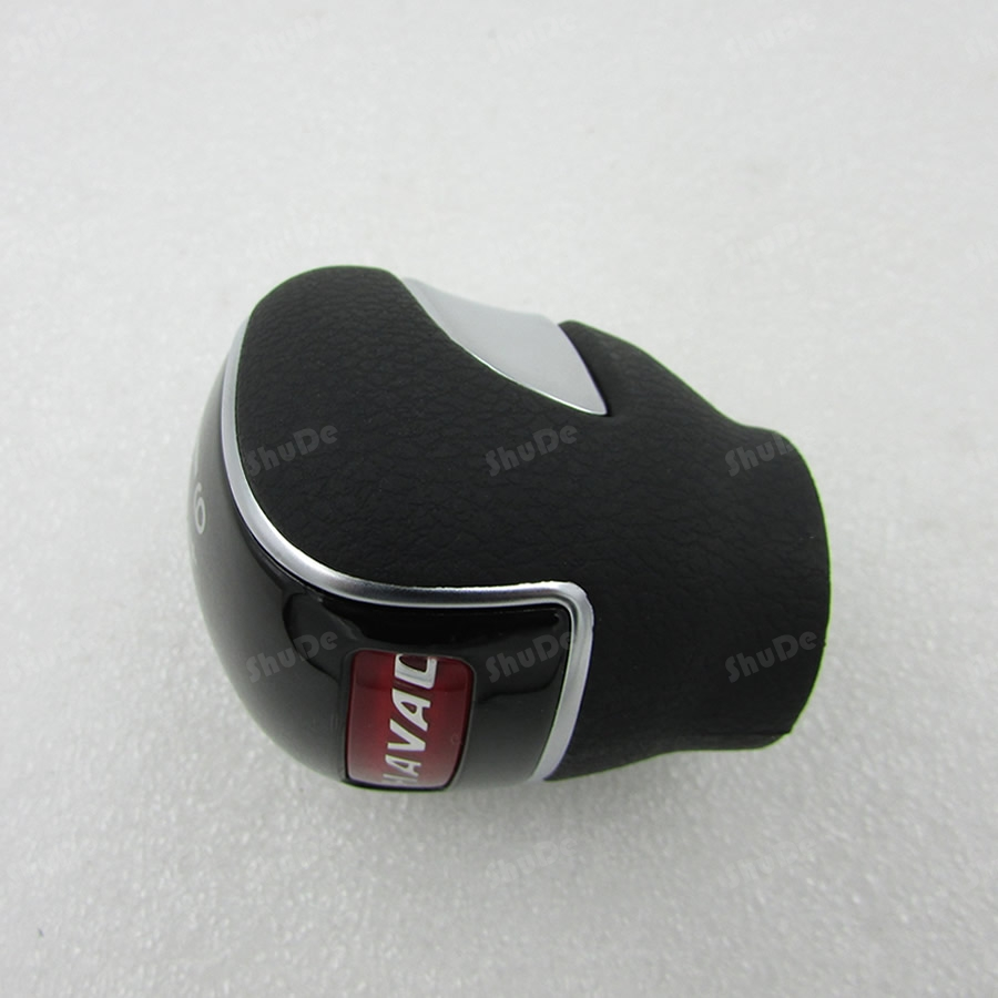 for Great Wall hover H2 manual shift lever shift lever block head handle handball Gear Shift Knob 6 speed