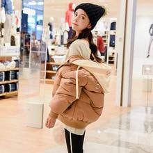 2018 New Winter Jacket Women Short Coat Casual Harajuku Korean Mian Bao Fu Warm Hot Sale Parka Chaqueta Mujer